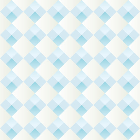 alternating: Pattern with alternating white and blue diamonds