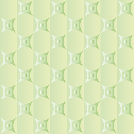 Background in two shades of green with a network of bright green decorations