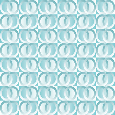 blue circles: Background with blue squares and circles double