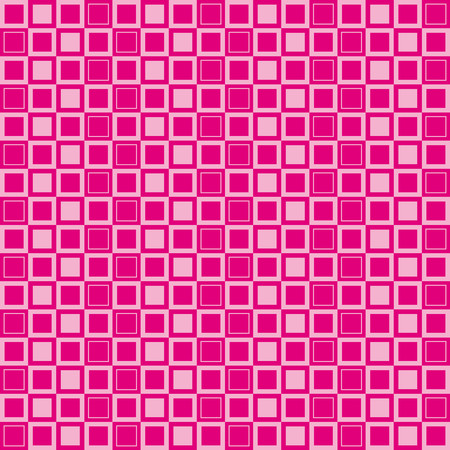 alternating: Abstract pattern with light and dark pink squares Illustration