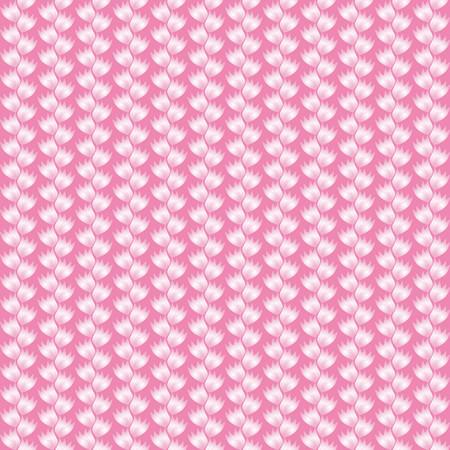 finesse: Floral pattern on pink background Illustration