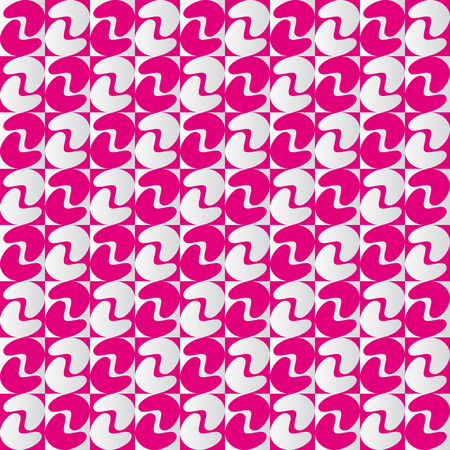 alternating: Geometric pattern with pink and pearl gray alternating shapes