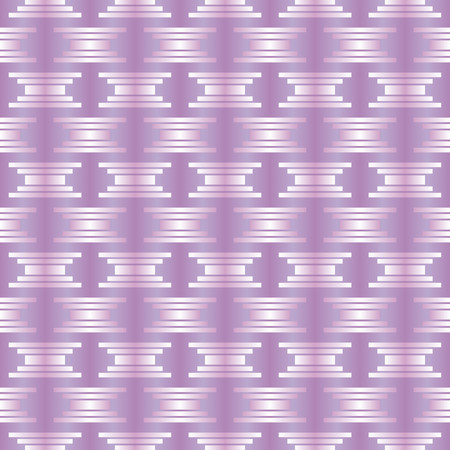 brilliant: Pattern with squares and rectangles on violet background brilliant effect Illustration
