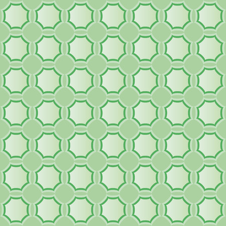 finesse: Pattern with light and dark green geometric shapes