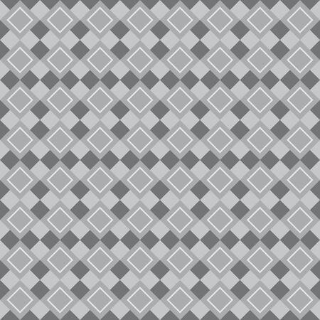 dark gray: Fun geometric pattern with light and dark gray rhombus Illustration