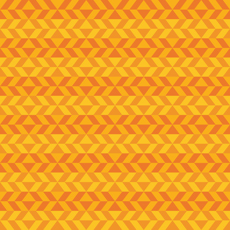 textile pattern: Fun geometric pattern with dark and light orange shapes