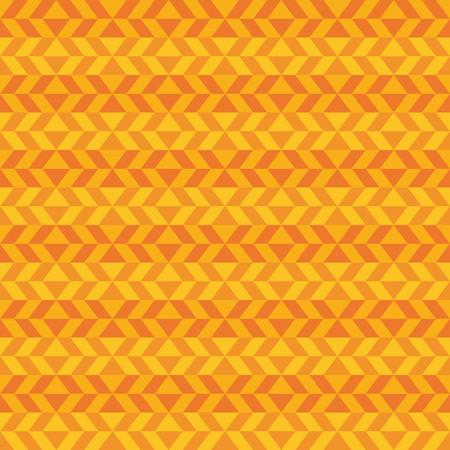 Fun geometric pattern with dark and light orange shapes
