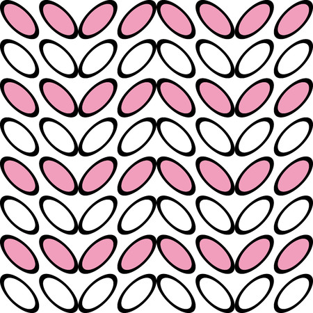 in particular: Nice pattern with stylized pink leaves