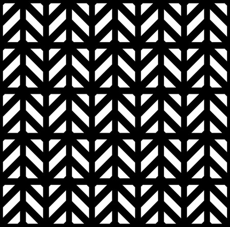 alternating: Geometric pattern with white and black shapes Illustration