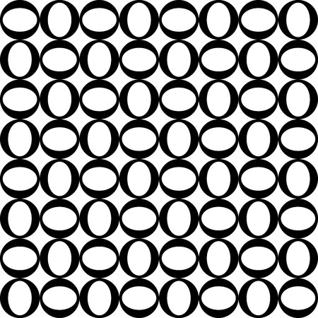 original circular abstract: Geometric pattern with black and white circular decorations