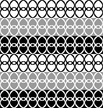 alternating: Fun pattern with black white and gray alternating shapes