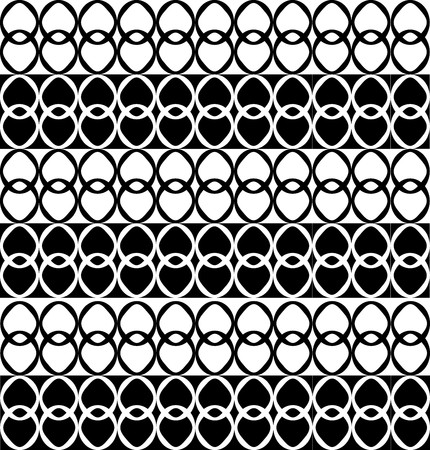 alternating: Fun pattern with alternating black and white shapes