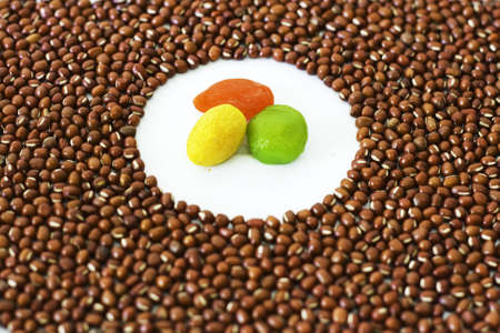 red bean and Preserved fruit photo