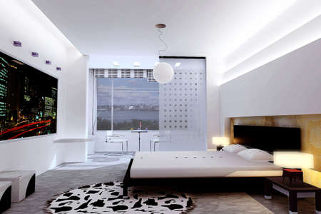 rendering bedroom photo