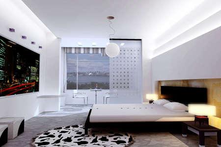 rendering bedroom Stock Photo - 7610707