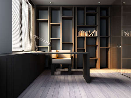 study room Stock Photo - 7618238