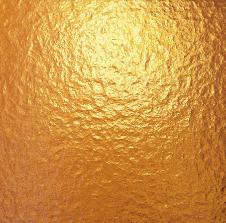 silver foil: Gold leaf texture and silver paper Stock Photo