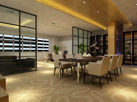 carpet flooring: rendering living room