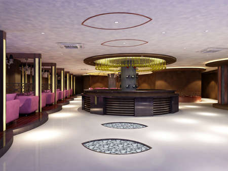 rendering hall photo