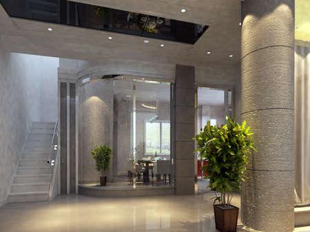 lobbies: hall rendering