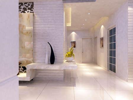 Modern design interior of living-room. render  Stock Photo - 9713072