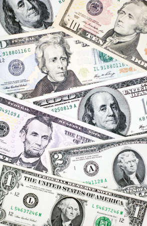 Banknotes of United States of America photo