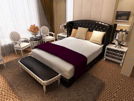 case moderne: il rendering camera da letto, in modo confortevole.
