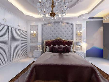 rendering: rendering bed room,so comfortable.