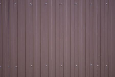 Rusty zinc corrugated iron metal texture