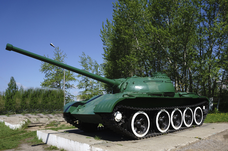 Russian retro tanks from second world war Stok Fotoğraf