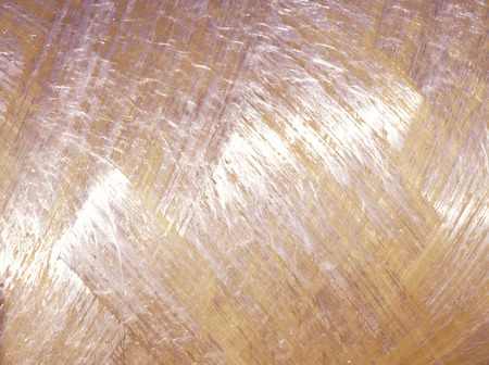 Material of glass wool insulation sheet Close-up
