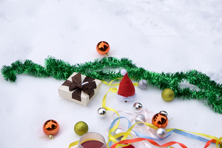 Christmas, christmas tree, colored decor, stars, balls on black background