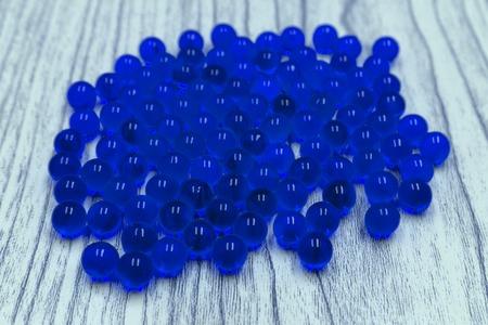 Blue Marbles Gradient Row natural sphere black