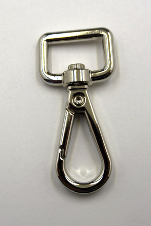 Clasp on backpack chrome clip close different door hold