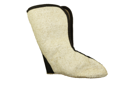 Warm inserts from natural top boots from footwear from 100 pure Merino wool .