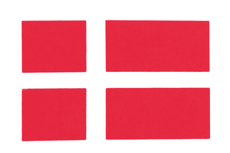 danish Flag textile travel waving white wind