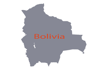 Bolivia place political politics road sea south world map . Imagens