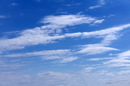 blue sky clouds tranquil air landscape clouds