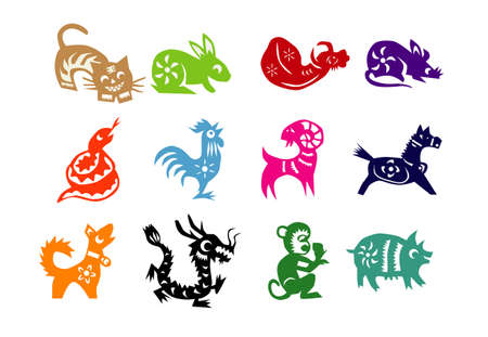 chinese festival: Animals of Chinese Calendar