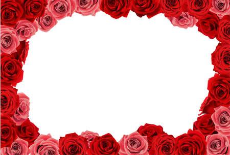 wedding photo frame:  Rose frame
