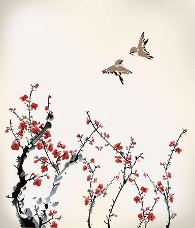 Inverno inchiostro dolce Archivio Fotografico - 22222070