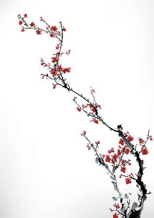 Tinte Winter süß Standard-Bild - 22222074