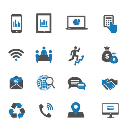 email icons: communication icons