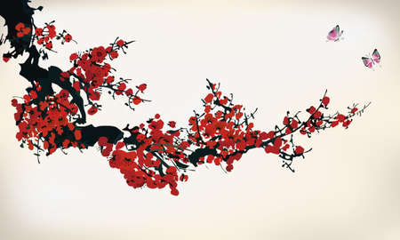 flor de cerezo: invierno tinta dulce