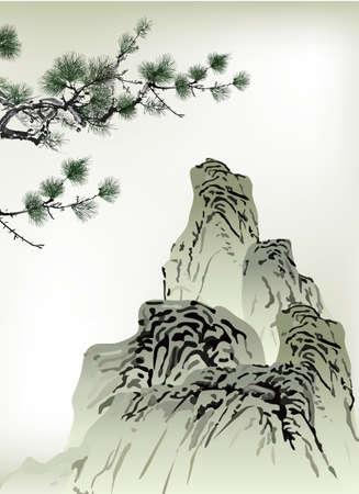sfondo nuvole: Pittura cinese
