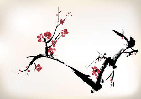 Blütenmalerei Standard-Bild - 24751950