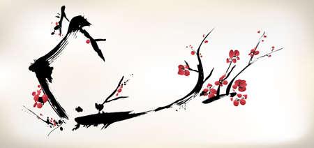 La peinture de fleurs Banque d'images - 24751980