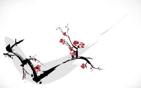 Blütenmalerei Standard-Bild - 24946516