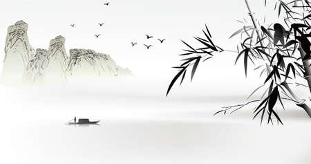 высокогорный: Китайская роспись