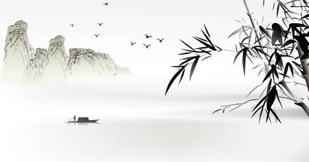Chinese painting  Vector